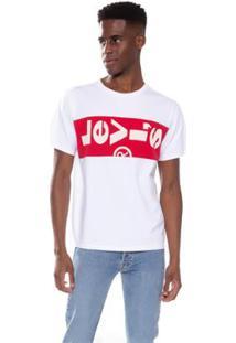 Camiseta Levi'S Colorblock Unbasic Masculina - Masculino-Branco