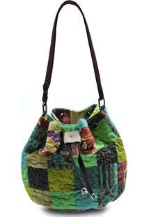 Bolsa Giulianna Fioriasgard Clover Em Patchwork Original