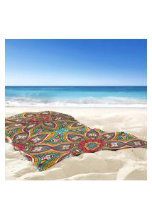 Toalha De Praia / Banho Mandala Fun Único