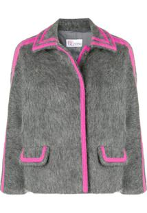 Red Valentino Knitted Jacket - Cinza
