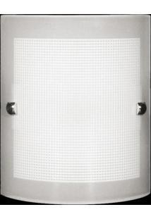 Arandela Calha Quadriculada 3300 Bc Branco