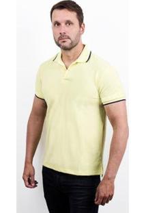 Camisa Polo 4You Adulta Masculina - Masculino-Amarelo
