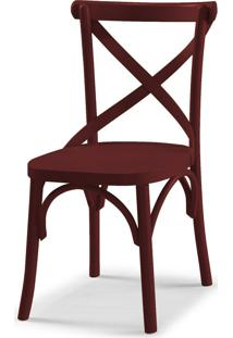 Cadeira X 87 Cm 901 Bordo - Maxima