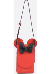 Bolsa Feminina Transversal Minnie Disney