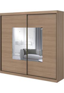 Guarda-Roupa Royal Com Espelho- 2 Portas - Carvalho Naturale