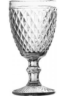 Conj De Taças De Água Transparente 6 Peças - Tricae