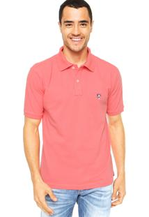 Camisa Polo Mr. Kitsch Vauvert Coral
