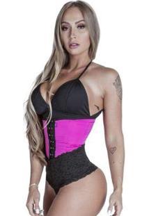 Cinta Modeladora Longa - Feminino-Pink