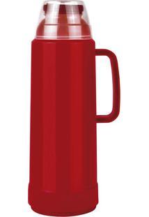 Garrafa Térmica Use Flip Vermelha 1L Mor