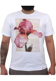 As Flores De Amanhã - Camiseta Clássica Masculina