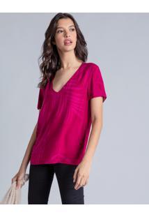 Blusa Estampada Decote V Melrose - Lez A Lez