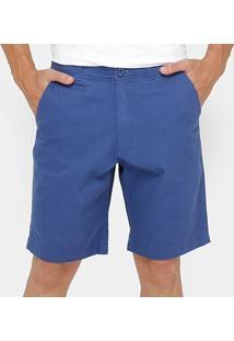 Bermuda Bluebay Sarja Color Masculina - Masculino