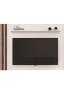 Painel Para Tv Est200 Branco E Estilare Móveis