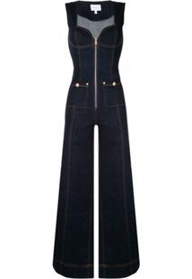 Alice Mccall Macacão Jeans - Azul
