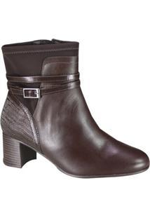 Bota Comfortflex Feminina Ankle Boot