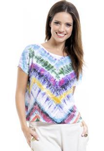 Blusa Estampada 101 Resort Wear Tie Dye