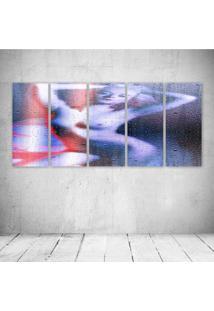 Quadro Decorativo - Woman564 - Composto De 5 Quadros