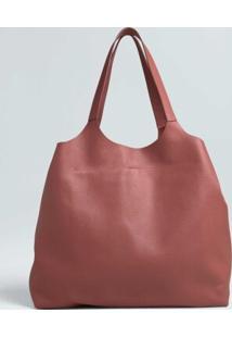 Bolsa Tote Bifold-Rosa Escuro - Un