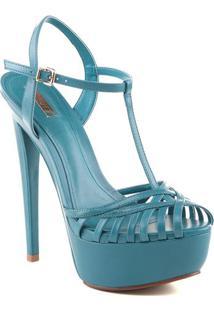 Sandã¡Lia Meia Pata Vazados- Azul Claroschutz