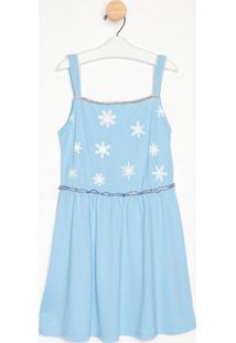 Camisola Ice Princess - Azul & Branca- Masquerademasquerade