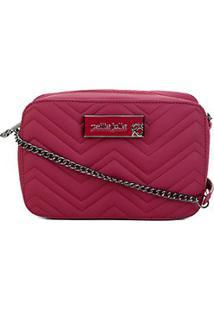 Bolsa Petite Jolie Mini Bag Nic Feminina - Feminino-Vinho