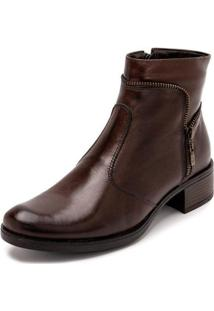 Bota Sandalo Clave De Fa Sitar Brown Feminina - Feminino