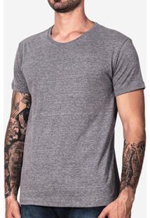Camiseta Hermoso Compadre Básica Eco Masculina - Masculino-Cinza