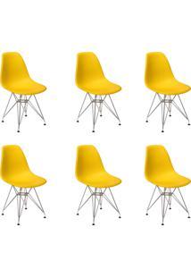 Cadeira E Banco De Jantar Império Brazil Charles Eames Eiffel Base De Metal