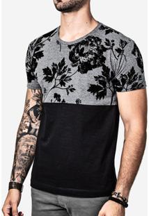 Camiseta Hermoso Compadre Meio A Meio Eco Masculina - Masculino