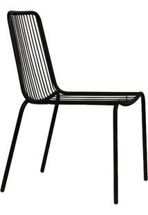 Cadeira De Jardim Grid Preta