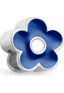 Pingente Life Flor Azul