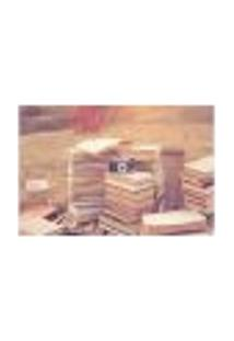 Painel Adesivo De Parede - Livros - Fotografia - 617Pnp
