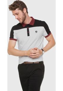Camisa Polo Mr Kitsch Reta Recortes Branca