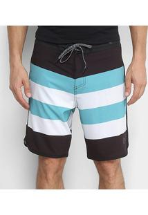 Boardshort Lost Stripes Masculino - Masculino
