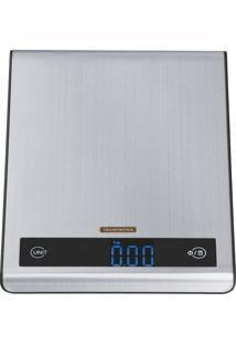 Balança Digital Aço Inox Para Cozinha - Cor Inox - Tramontina