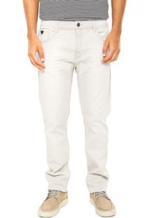 Calça Jeans Ellus Grey Ii Off-White