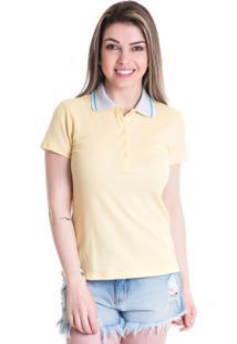 Camisa Polo Konciny Piquet 96111 Amarelo