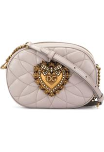 Dolce & Gabbana Bolsa Transversal Devotion - Marrom