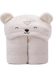 Cobertor Microfibra Mami Bichuus Com Capuz Papi Bege - Bege - Dafiti