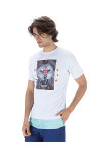 Camiseta Fatal Estampada 22103 - Masculina - Branco