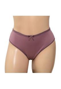 Calcinha Plus Size Fio Duplo - Clamf014-Satin-Gg Nude