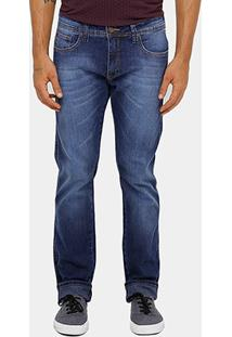 Calça Jeans Triton Pedro Slim Stone Masculina - Masculino