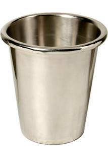 Vaso Decorativo De Aço Inox Harman