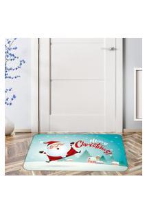 Tapete De Natal Para Porta Merry Christmas Happy Único