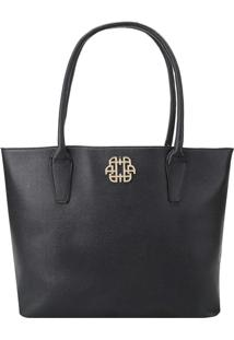 Bolsa Shopping Bag Ana Hickmann Preto