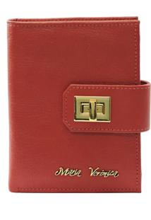 Carteira Maria Verônica 2002 Vermelho