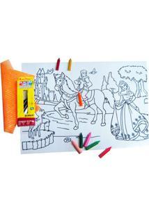Quadro Kits For Kids Mágico Reino Encantado Multicolorido