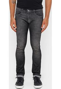 Calça Jeans Skinny Biotipo Black Stone Masculina - Masculino
