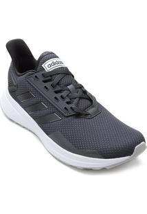 Tênis Adidas Duramo 9 Feminino - Feminino-Cinza+Preto