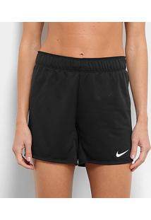 Short Nike Dry Attk Tr5 Feminino - Feminino-Chumbo+Branco